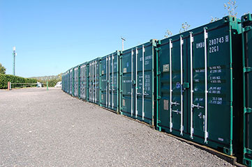 Axminster container storage