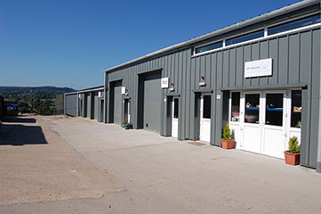 Container storage Axminster